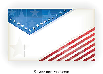 Stars and Stripes, background, busi - US american flag...
