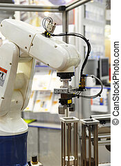 industry robot at work