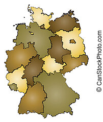 germany administration map