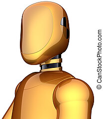 Android golden robot