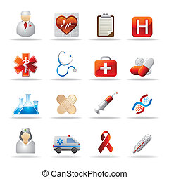 healthcare icon - medical and health icon set
