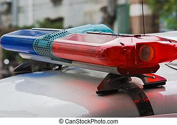 Terror alert - Police siren