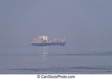 navio, Recipiente