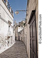 Alleyway. Matera. Basilicata.