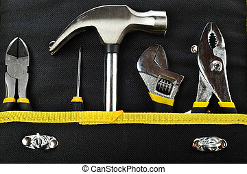 different tools - set of different tools isolated