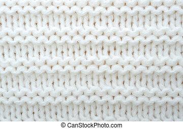 lana, suéter, textura