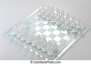 chess board ready for the game
