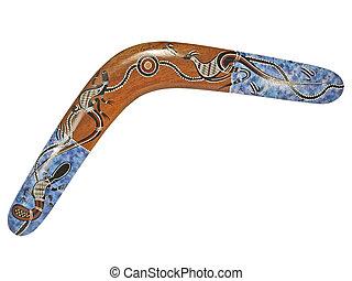 boomerang, isolado