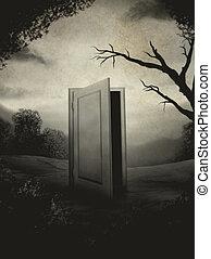 Portrait Of A Door