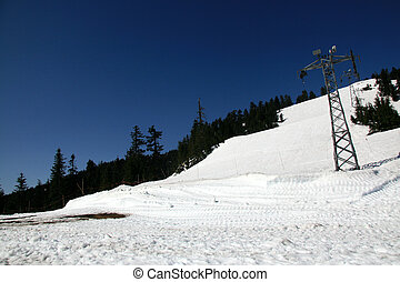 Grouse Mountain, Vancouver, BC, Canada - Grouse Mountain on...