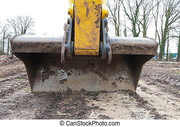 excavator - scoop of an excavator