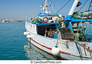 Fishing trawler