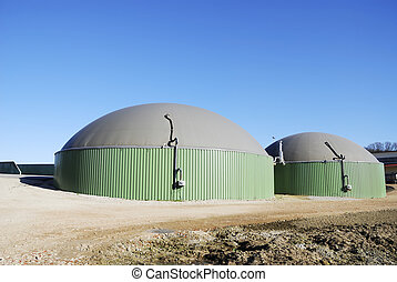 Biogas - Renewable energy with biogas production