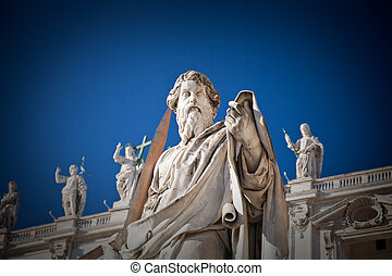 Statue of St.Peter in Vatican, Italy