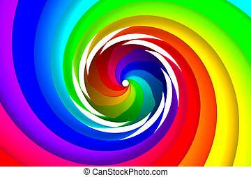 Colorful spiral