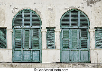 windows in massawa eritrea ottoman influence - windows in...