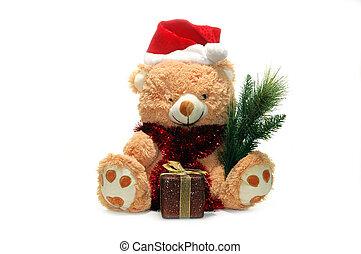 noël, jouet, ours