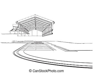 Roof Construction Vector