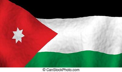 Jordan Looping Flag Background