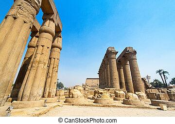 Egypt, Luxor, Amun Temple of Luxor - Africa, Egypt, Luxor,...