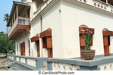 Residence of poet Rabindranath Tegore in Bangladesh