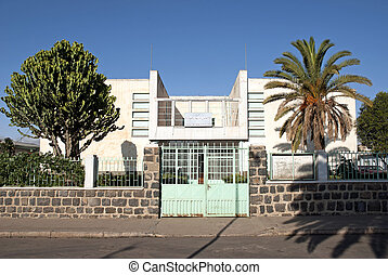 italian colonial art deco architecture in asmara eritrea