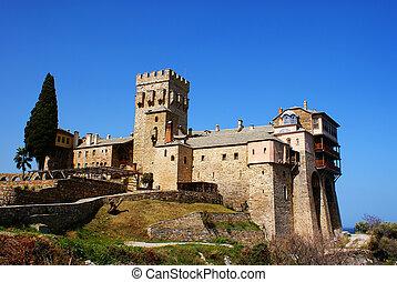 Monastery of Stavronikita at Athos - Monastery of...