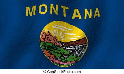 Montana Flag Loop
