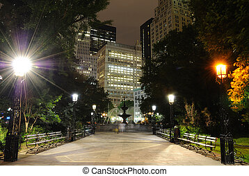 new york city hall park