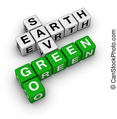 Go Green, Save Earth crossword