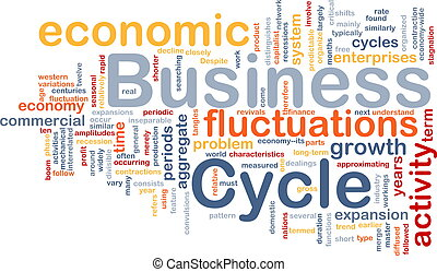 Business cycle is bone background concept - Background...