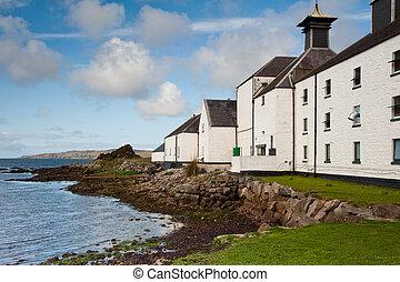 Laphroaig bay - Loch Laphroaig bay on the isle of Islay