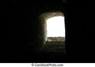 castillo, Calabozo