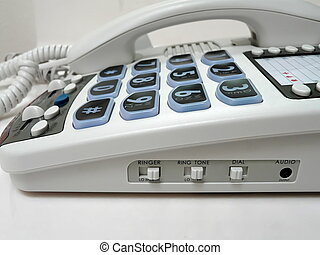 Amplified Big Button Telephone - Big-button telephone with...