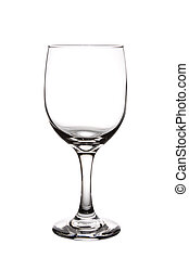 Wine Glass - Empty Wine Glass