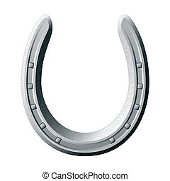 Lucky horseshoe - Vector illustration of a horseshoe