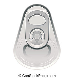 Can cap - Vector illustration of a can cap