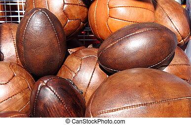 futbol, rugby, pelotas