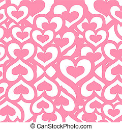 heart background - illustration of heart background