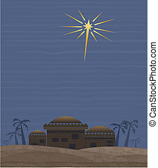 Star of Bethlehem - Simple clean interpretation of the star...