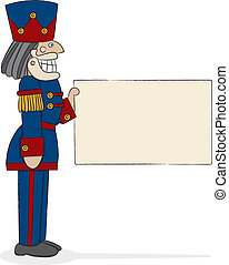 Nutcracker Captain - A traditional military-style nutcracker...