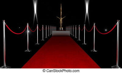 Awards Ceremony - Travel down the red carpet to collect your...