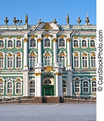 The Hermitage - From the 1760s onwards the Winter Palace was...