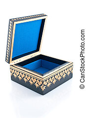 Casket for storage of jewelry