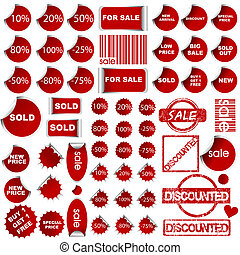 Shopping promotional elements