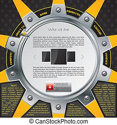 Cogwheel website template