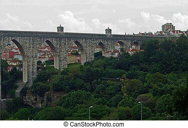 Portugal Lisbon Story Arc city landscape sky