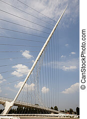 Calatrava bridge - One of three Calatrava bridges in...
