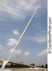 Calatrava bridge - One of three Calatrava bridges in...