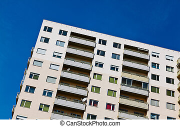 High-rise residential building as - A high-rise building as...